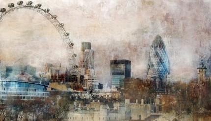 London Skyline – 80 x 45 cm