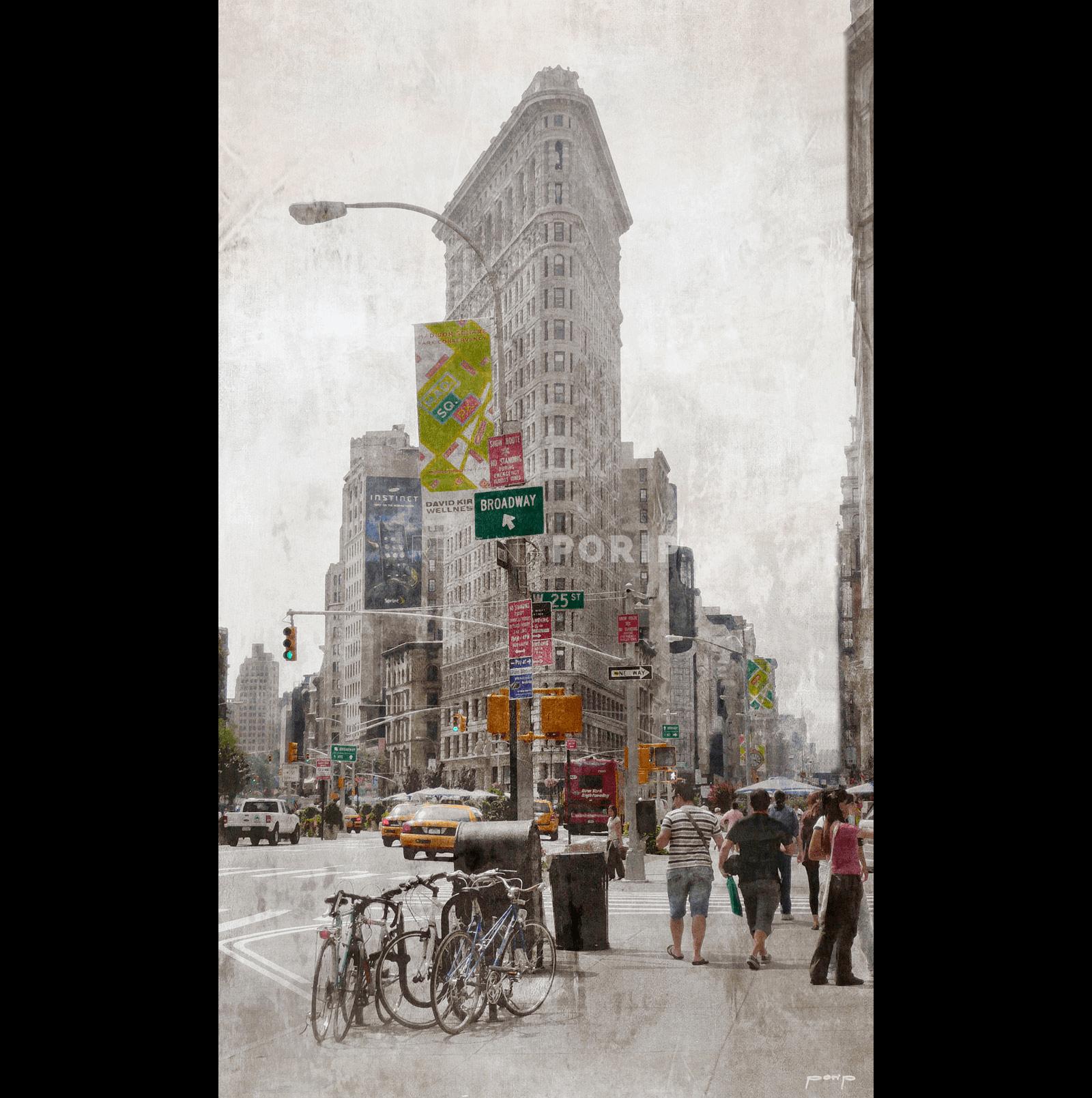 New York Flatiron 4 – 60 x 100 cm