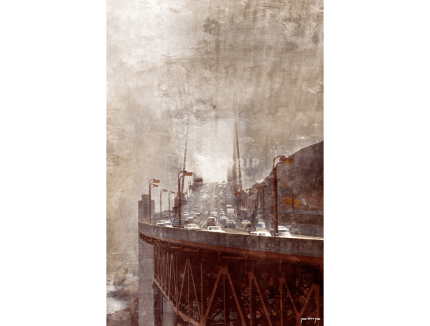 Amerika Kalifornien Golden Gate Bridge 1 – 60 x 90 cm