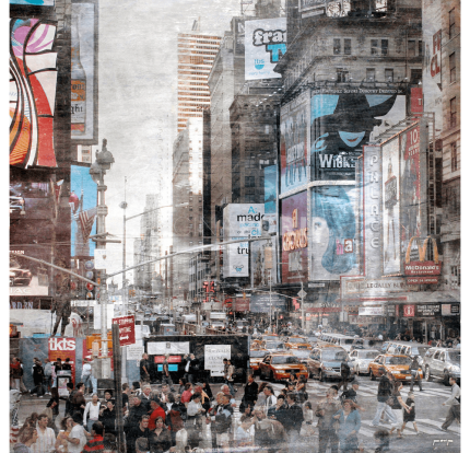 New York Broadway 11a – 60 x 60 cm