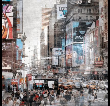 New York Broadway 11a – 60 x 60 cm