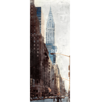 New York Chrysler Building 1 – 40 x 100 cm