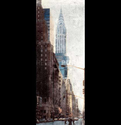New York Chrysler Building 1 – 40 x 100 cm