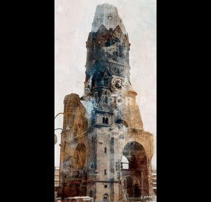 Berlin 4 Gedächtniskirche – 60 x 120 cm