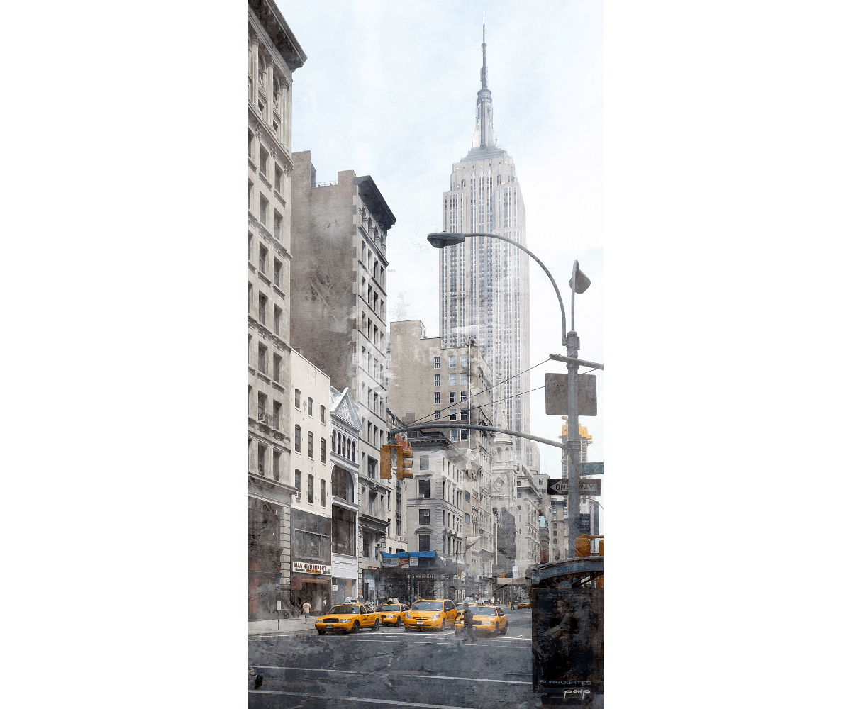 New York Empire State Building 7 – 35 x 70 cm