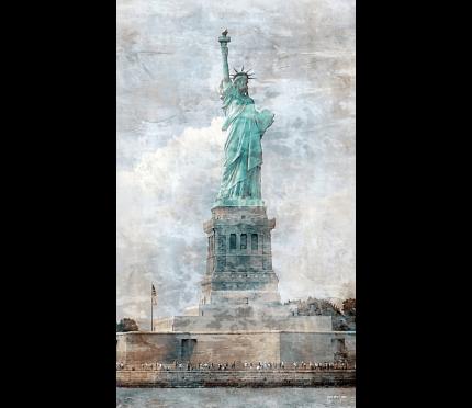 New York Freiheitsstatue 9 – 50 x 85 cm