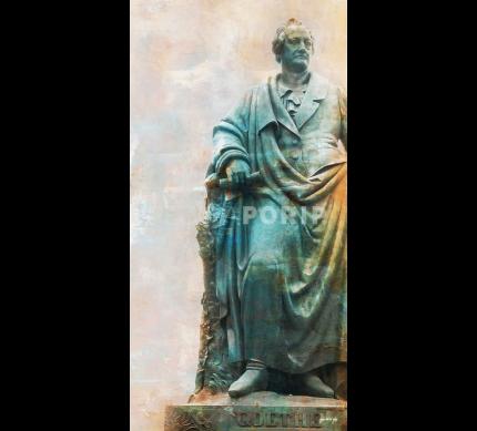 Frankfurt 2 mit Goethe – 60 x 120 cm