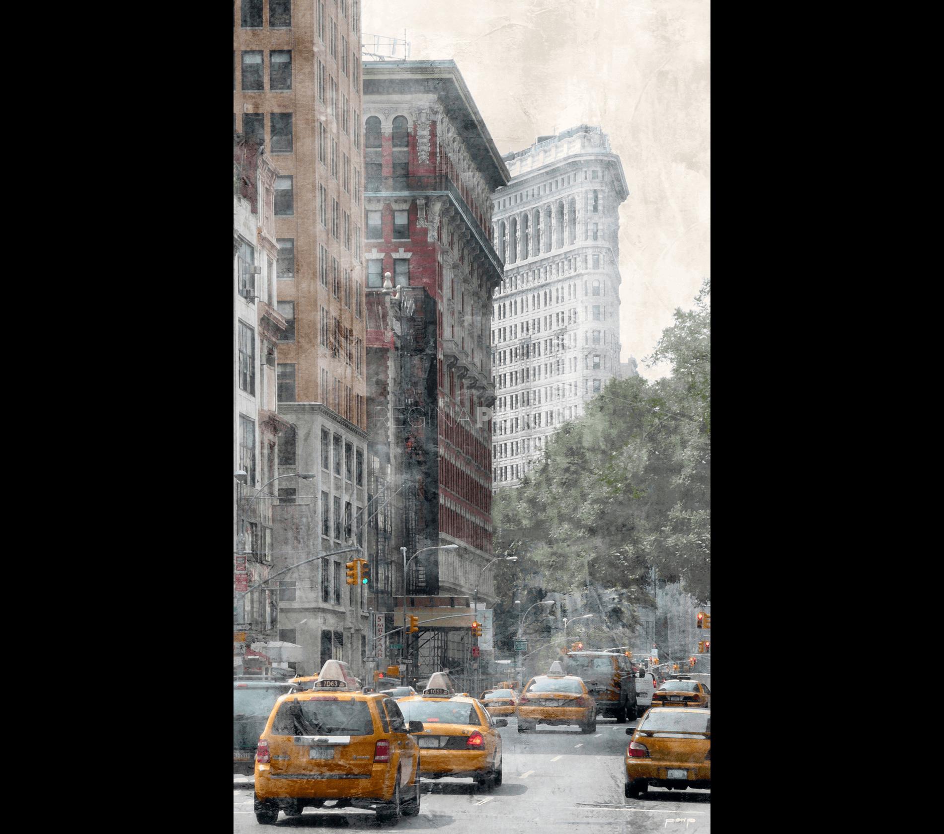 New York Flatiron 5 – 40 x 70 cm