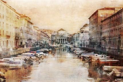 Italien Triest San Antonio – 120 x 80 cm