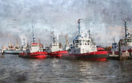 Hamburg Hafen Elbschlepper 1