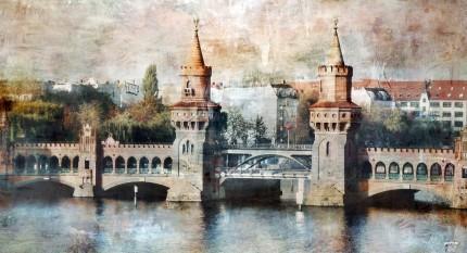 Berlin 10 Oberbaumbrücke – 100 x 55 cm