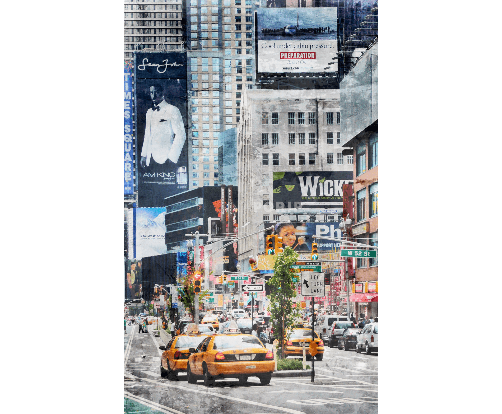 New York Times Square 25 – 60 x 100 cm