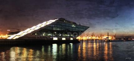 Hamburg Hafen 47 – 110 x 50 cm
