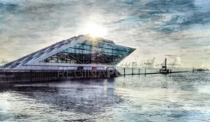 Hamburg Hafen 50 – 120 x 70 cm