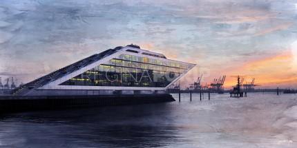 Hamburg Hafen 57 – 100 x 50 cm