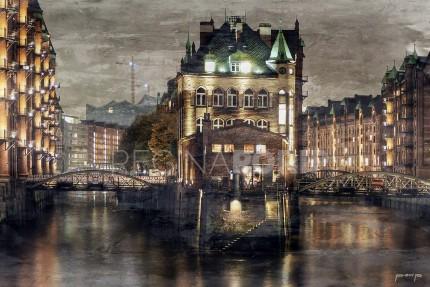 Hamburg Speicherstadt 15 – 120 x 80 cm