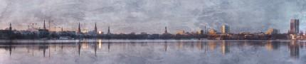 Hamburg Alster 49 – 120 x 25 cm