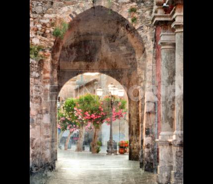 Sizilien Taormina 1 – 40 x 50 cm