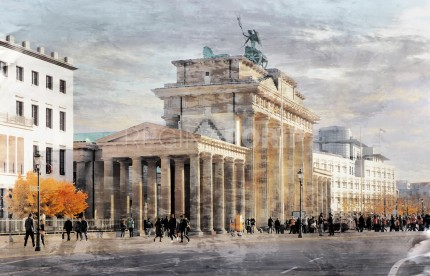 Berlin Brandenburger Tor 7  –  80 x 50 cm