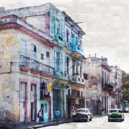 Cuba – Havanna 10  –  60 x 60 cm