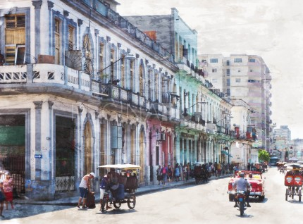 Cuba – Havanna 11  –  70 x 50 cm