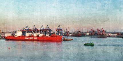 Hamburg Hafen 78  –  120 x 60 cm