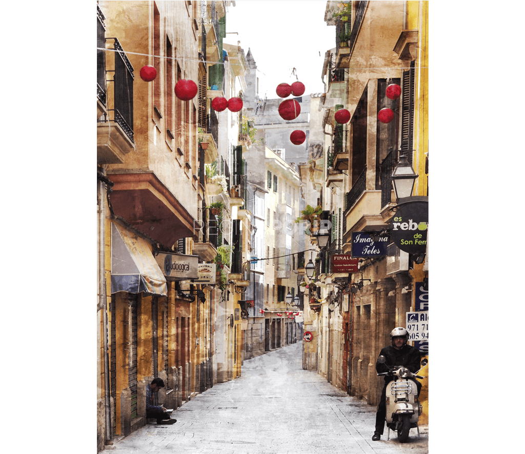 Palma de Mallorca 6  –  45 x 60 cm