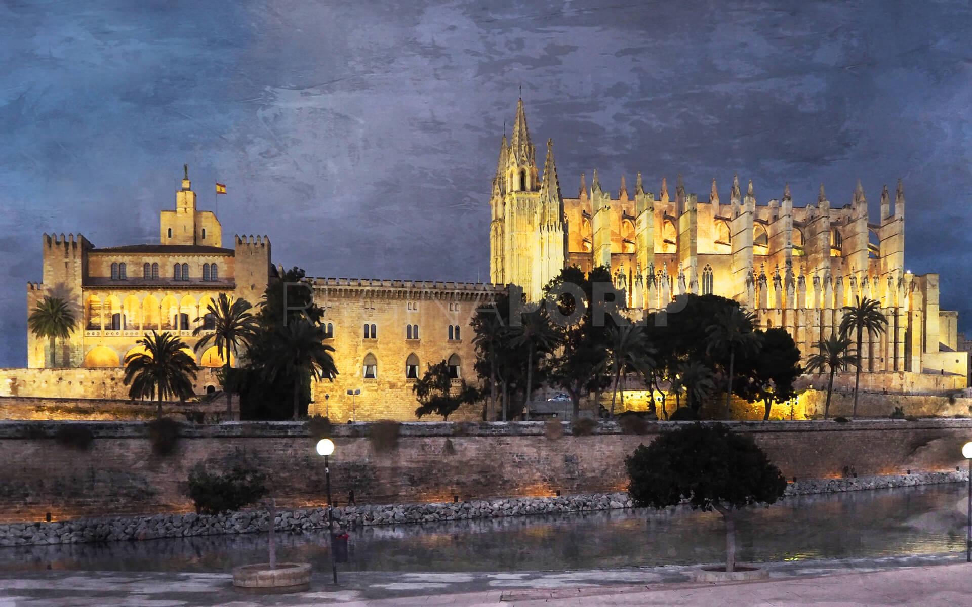 Palma de Mallorca 2  –  80 x 50 cm
