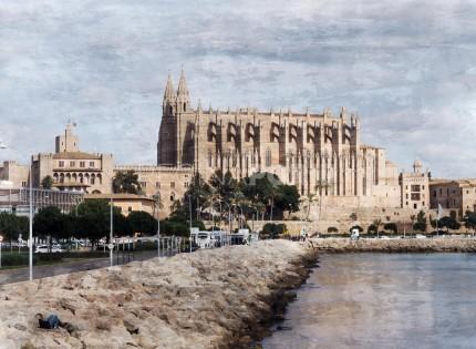 Palma de Mallorca 5  –  70 x 50 cm