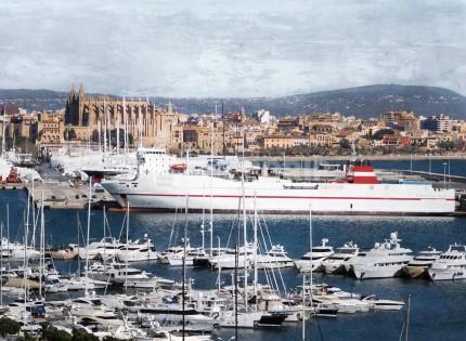 Palma de Mallorca 3  –  70 x 50 cm
