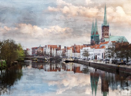 Lübeck 8  –  80 x 60 cm