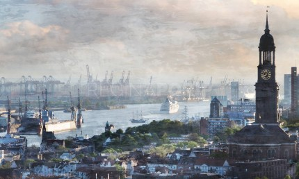 Hamburg Hafen 79  –  100 x 60 cm