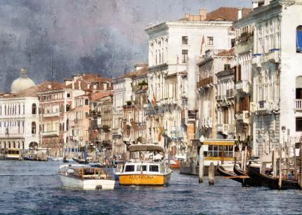 Italien Venedig 43  –  100 x 70 cm