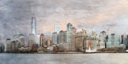 New York City Skyline 13  –  140 x 70 cm