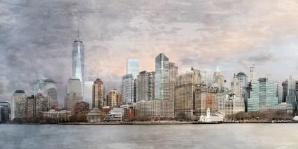 New York City Skyline 13  –  140 x 70 cm