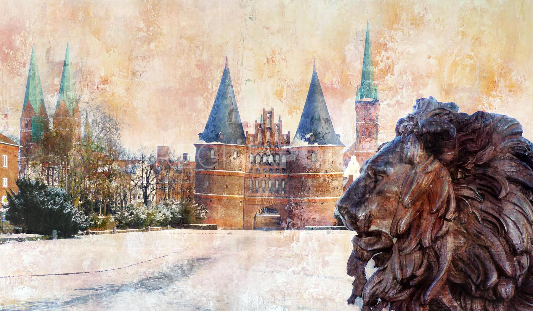 Lübeck 11  –  120 x 70 cm
