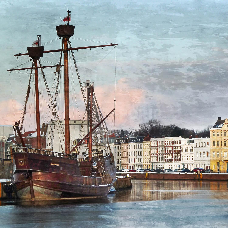 Lübeck 12  –  80 x 80 cm