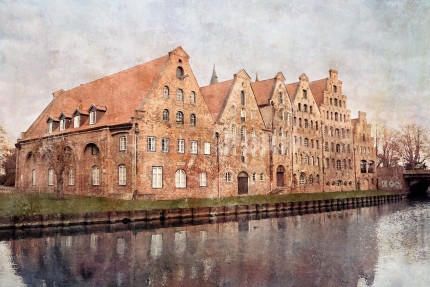 Lübeck 10  –  60 x 40 cm