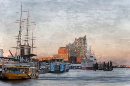 Hamburg Hafen 81  –  120 x 70