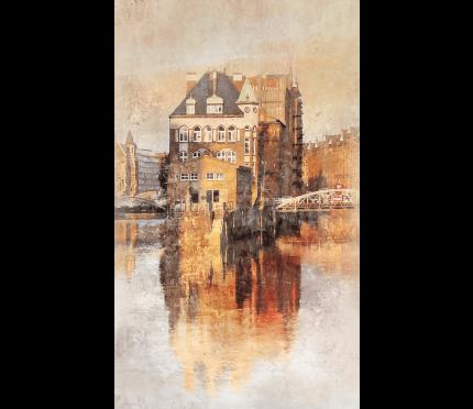 Hamburg Speicherstadt 20  –  60 x 100 cm
