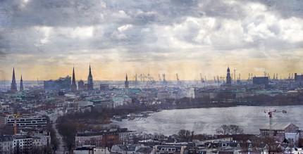 Hamburg Alster 58  –  120 x 60 cm