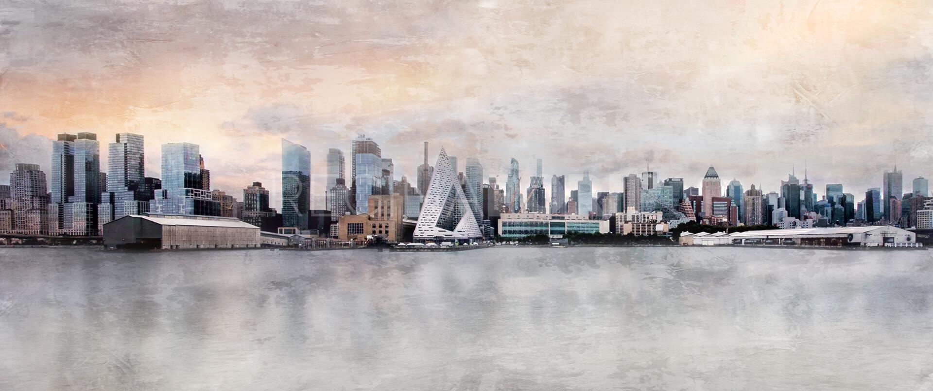 New York City Skyline 16  –  120 x 50 cm