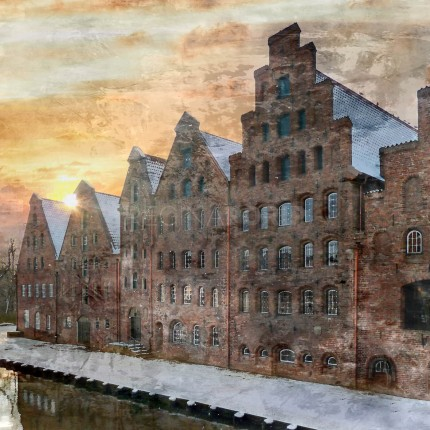 Lübeck 15  –  50 x 50 cm