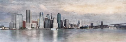 New York City Skyline 15 – 150 X 50 CM