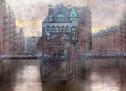 Hamburg Speicherstadt 22  –  110 x 80 cm