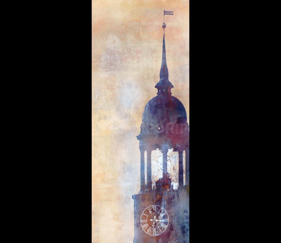 Hamburg Michel 8  –  40 x 100 cm