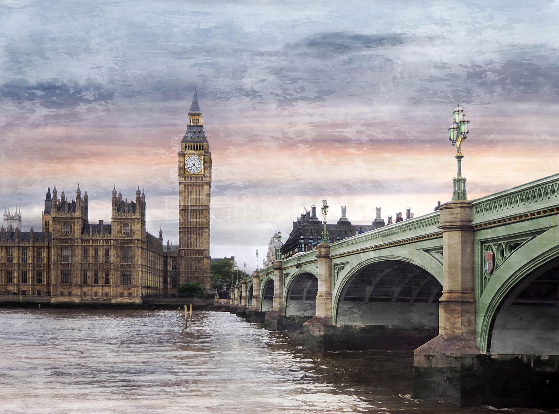 London 7  –  80 x 60 cm