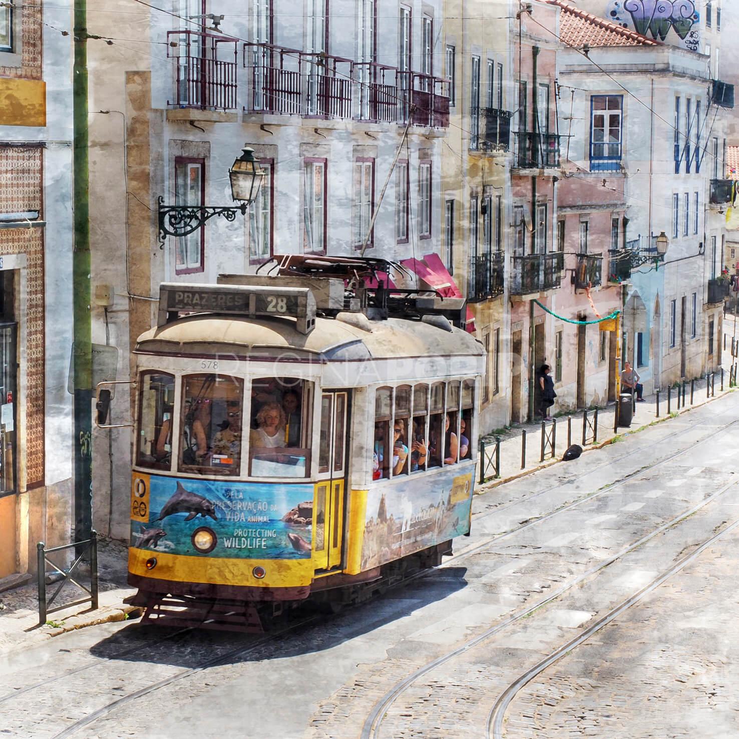 Lissabon 8  –  60 x 60 cm