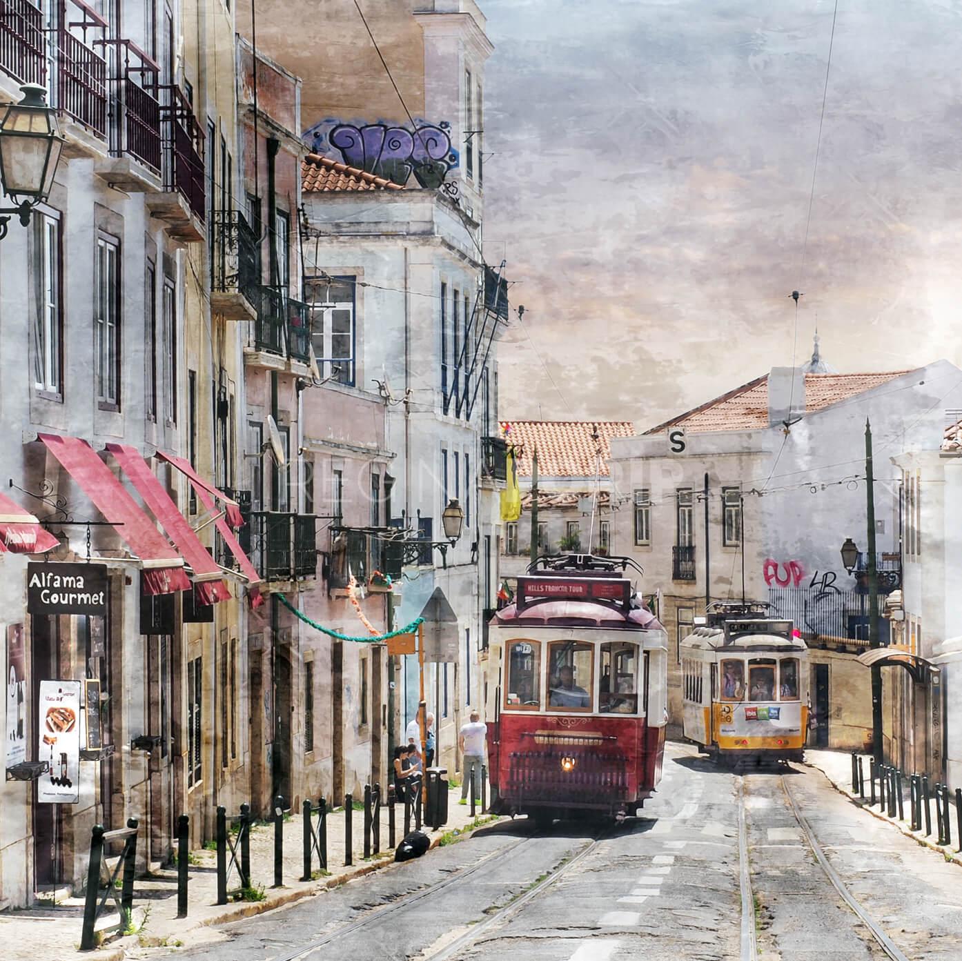 Lissabon 7  –  60 x 60 cm