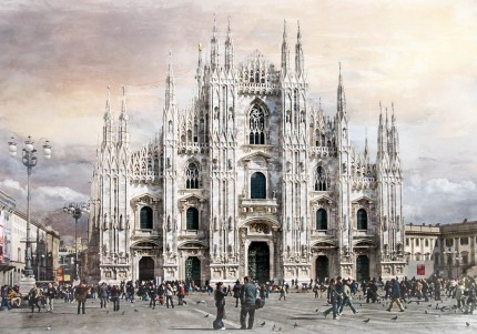 Mailand 1  –  70 x 50 m